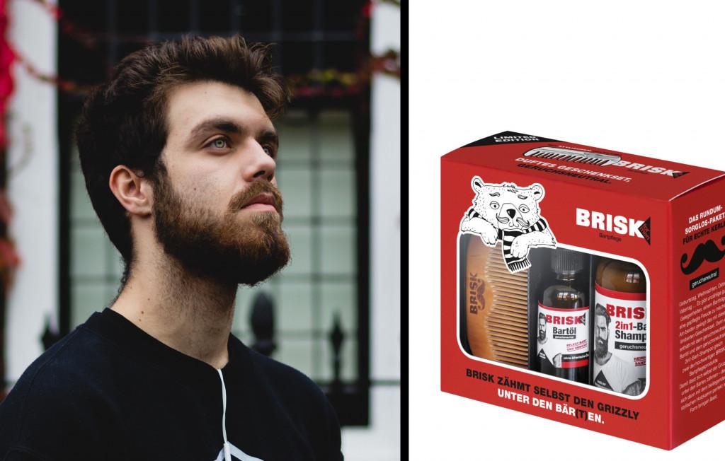 BRISK Bartpflege Geschenkset