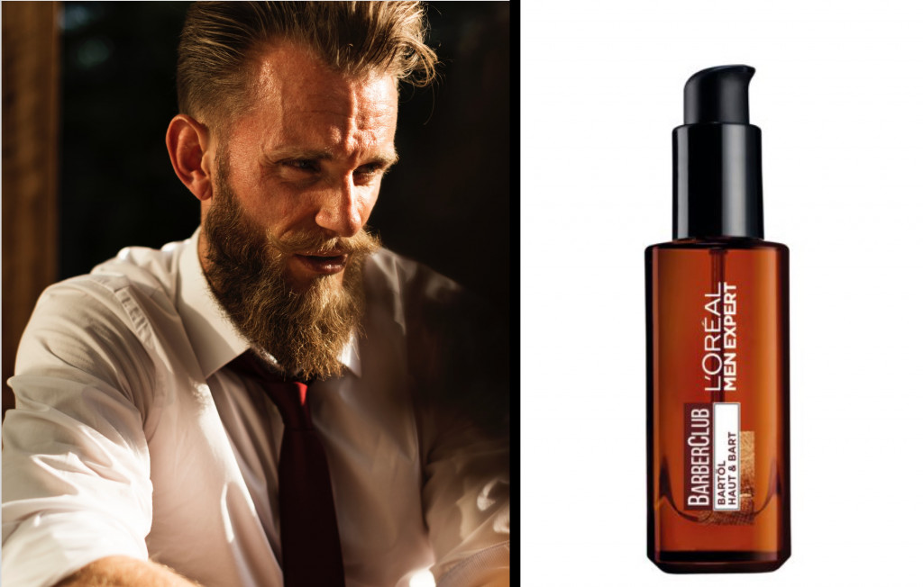 L'Oréal Men Expert Barber Club Bartöl