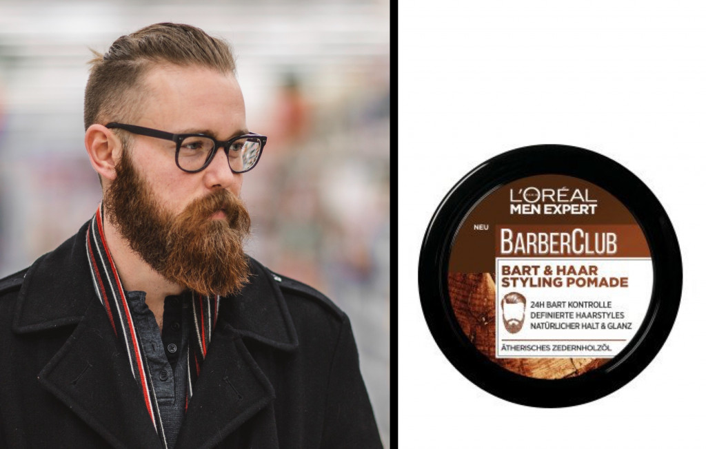 L'Oreal Men Expert Barber Club Bart Pomade