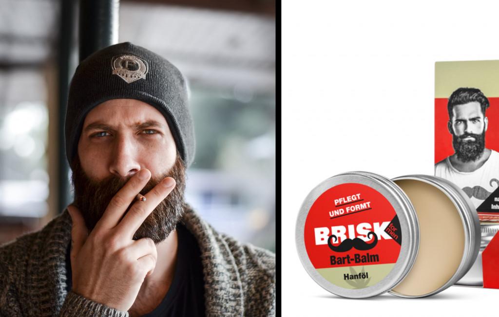 BRISK Bart Balm