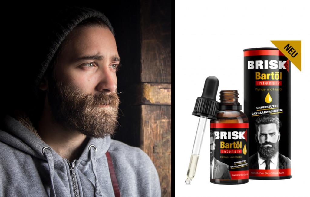 BRISK Bartpflege INTENSIV Bartöl & Waschgel